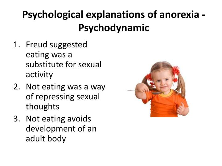 Psychological explanations of anorexia - Psychodynamic