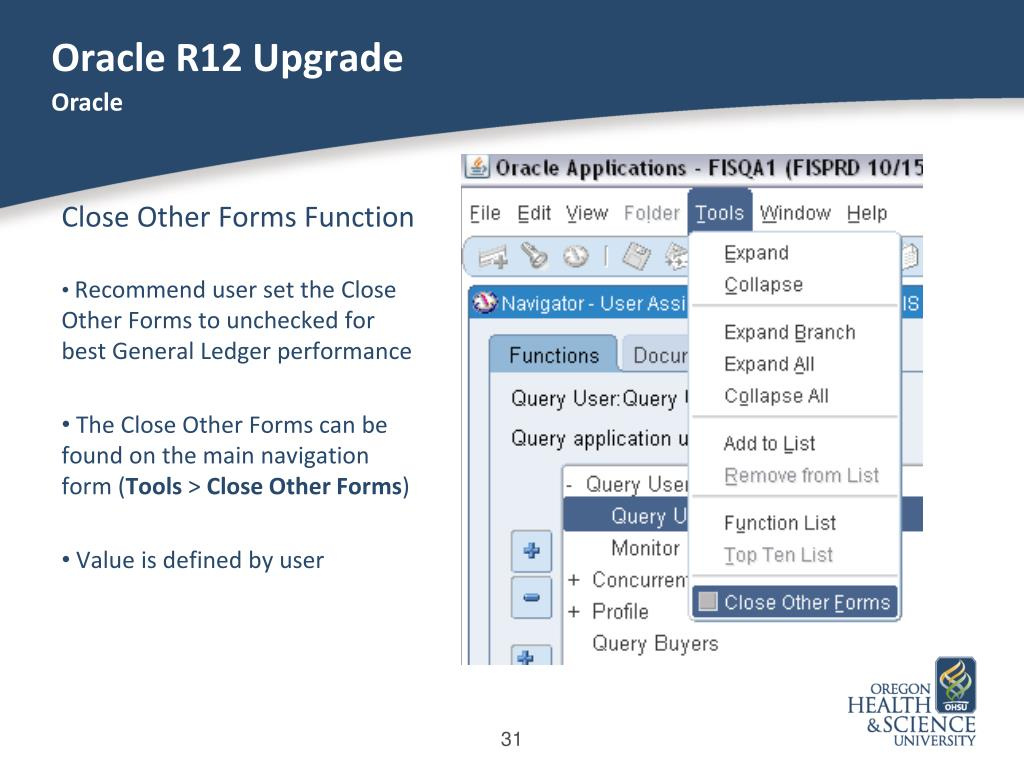 PPT - Oracle R12 Upgrade PowerPoint Presentation - ID:1103260