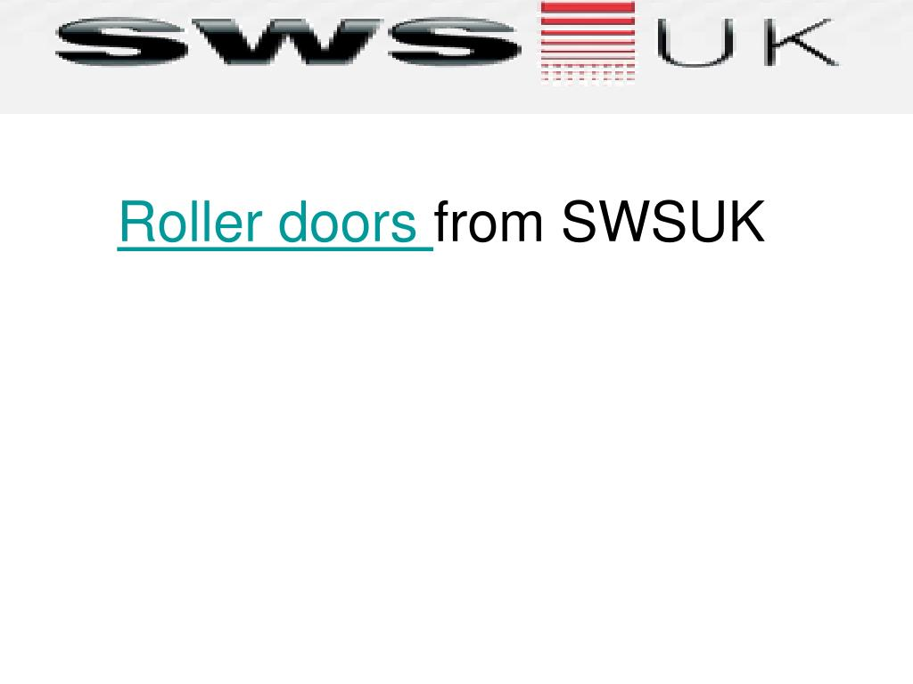 roller doors from swsuk l.