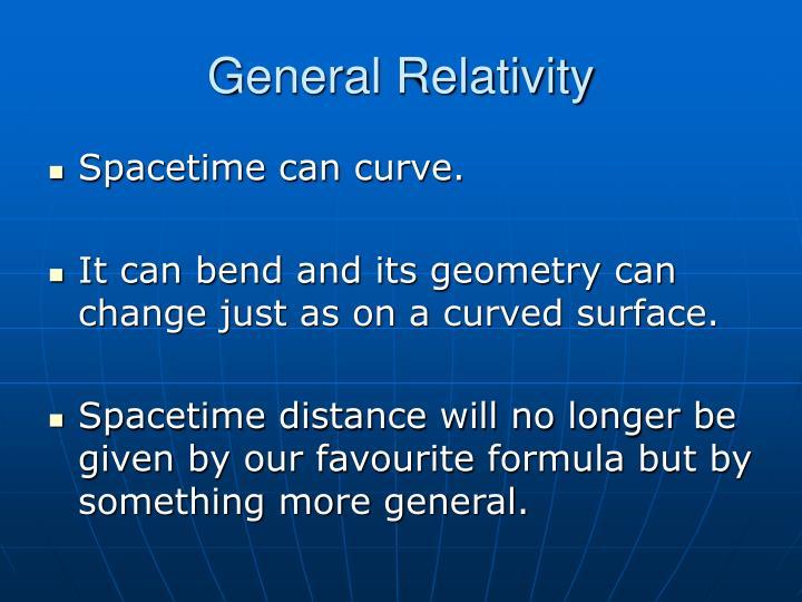General Relativity