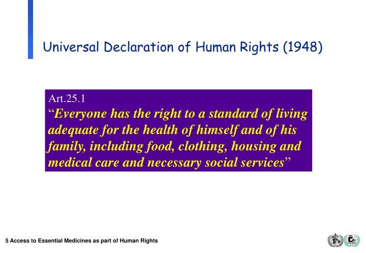 Universal Declaration of Human Rights (1948)