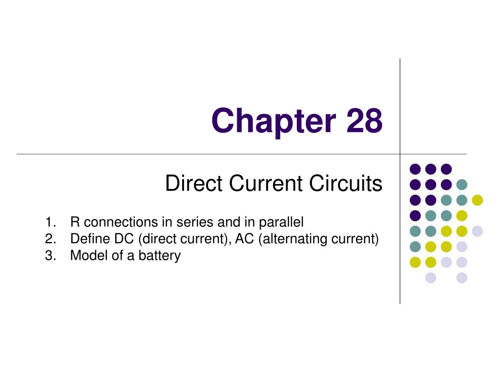 Ppt Chapter 28 Powerpoint Presentation Id1103559 Alternating Current Circuits N