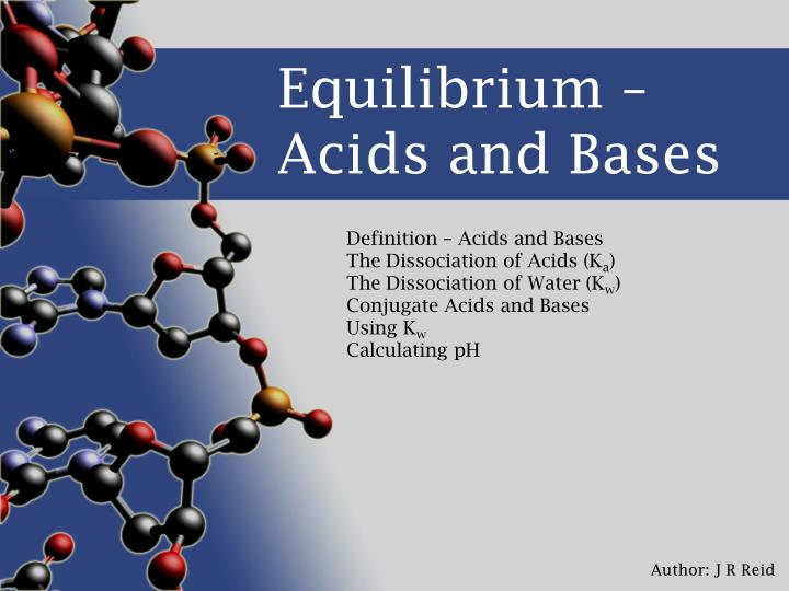 equilibrium acids and bases n.