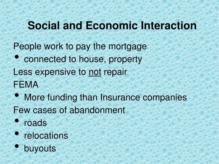 Social and Economic