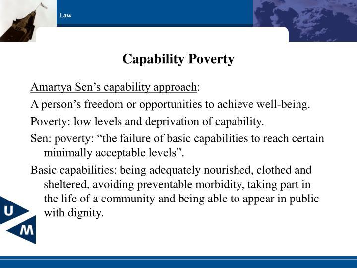 Capability Poverty