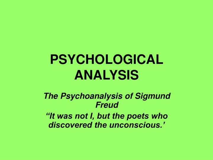 psychological analysis of rashoman Analytical psychology and psychoanalysis skip to content encyclopedia of psychological complexes is abundant in sorting of variety of existing complexes like any systematization exercise, typology of modern complexes, indeed, poses a challenge for modern science as long as an.