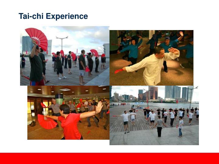 Tai-chi Experience