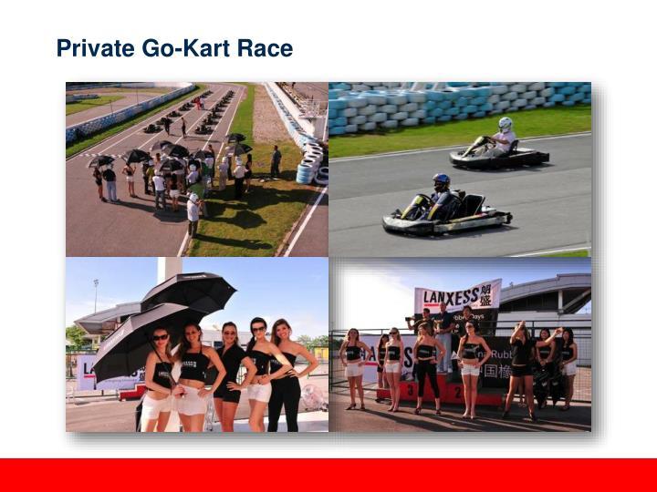 Private Go-Kart Race