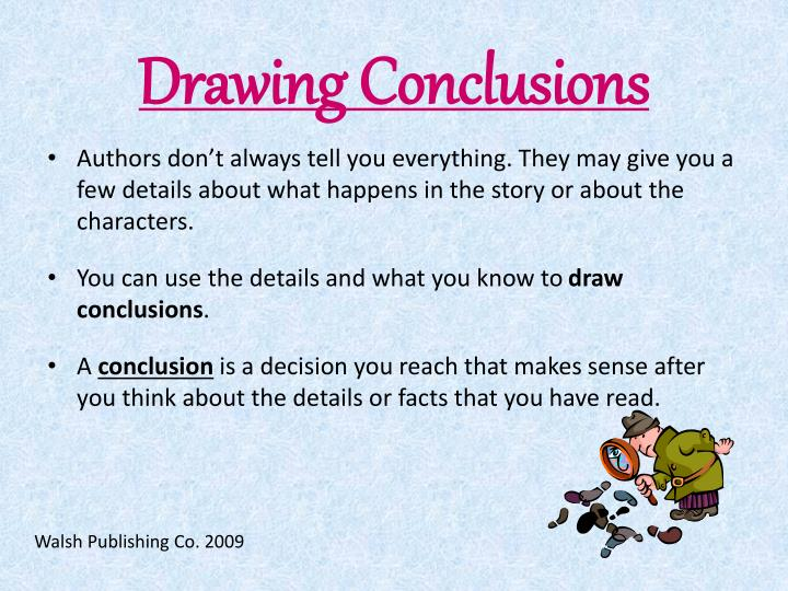 Ppt Drawing Conclusions Powerpoint Presentation Id 1104687