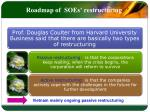 roadmap of soes restructuring2