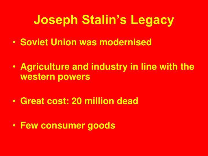 Joseph Stalin's Legacy