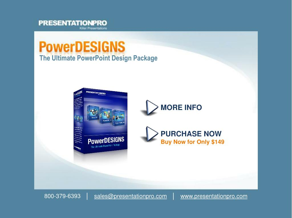 The Ultimate PowerPoint Design Package