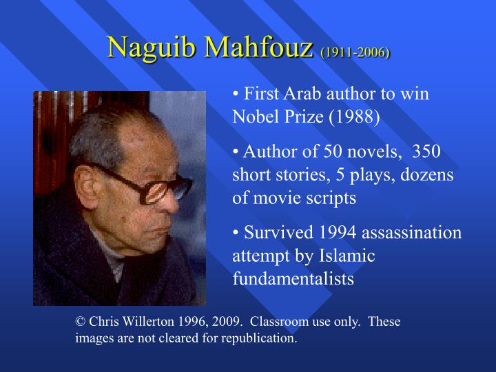 an examination of the story of zaabalawi by naguib mahfous The story zaabalwi by nagub mahfouz is about a who or what is zaabalawi in the story zaabalawi by naguib in the story zaabalawi by naguib mahfouz.