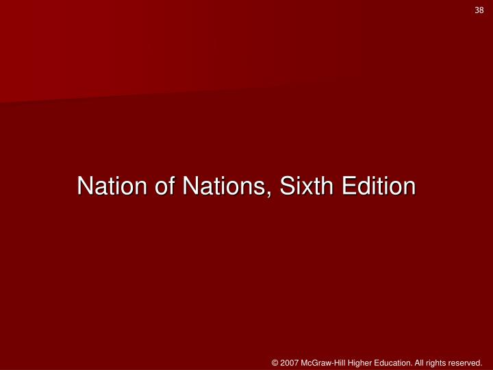 Nation of Nations, Sixth Edition