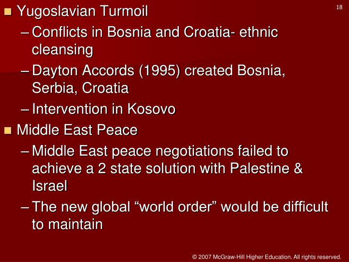 Yugoslavian Turmoil