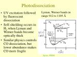photodissociation