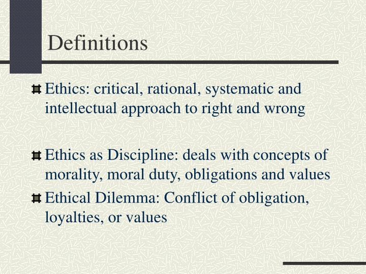 conceptions of moral obligation essay