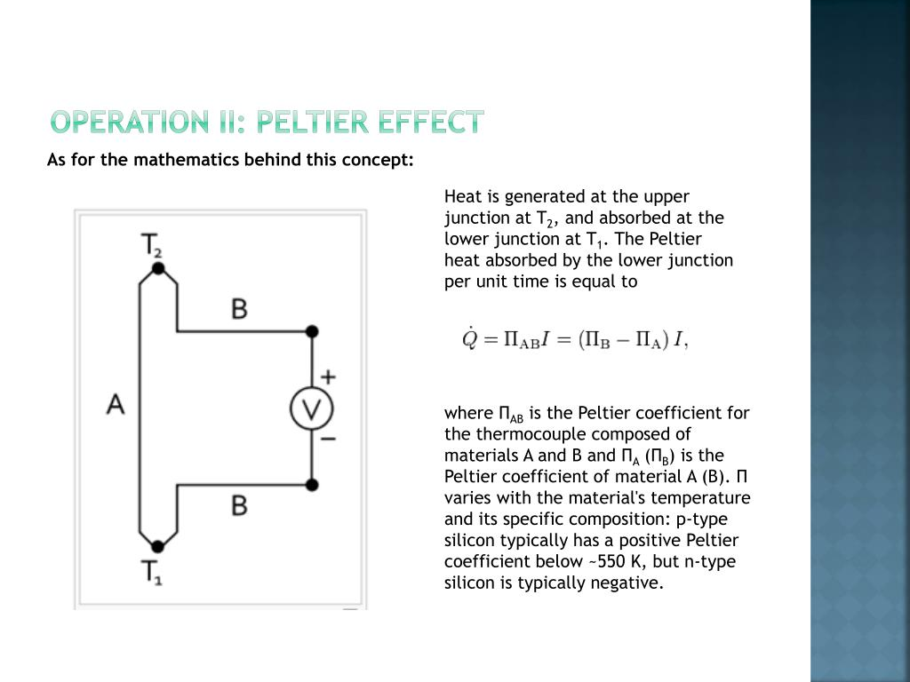 PPT - ThermoElectric PowerPoint Presentation - ID:1105640