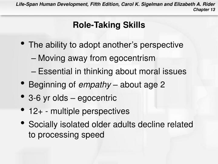 Role-Taking Skills