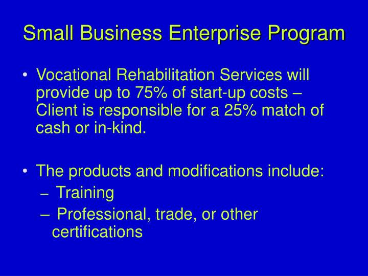 small business eterprise The small medium enterprise website can help your business make its next sme connection our unique business2business directory has been built to help you find more services, products and.