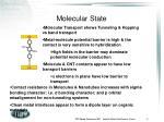 molecular state