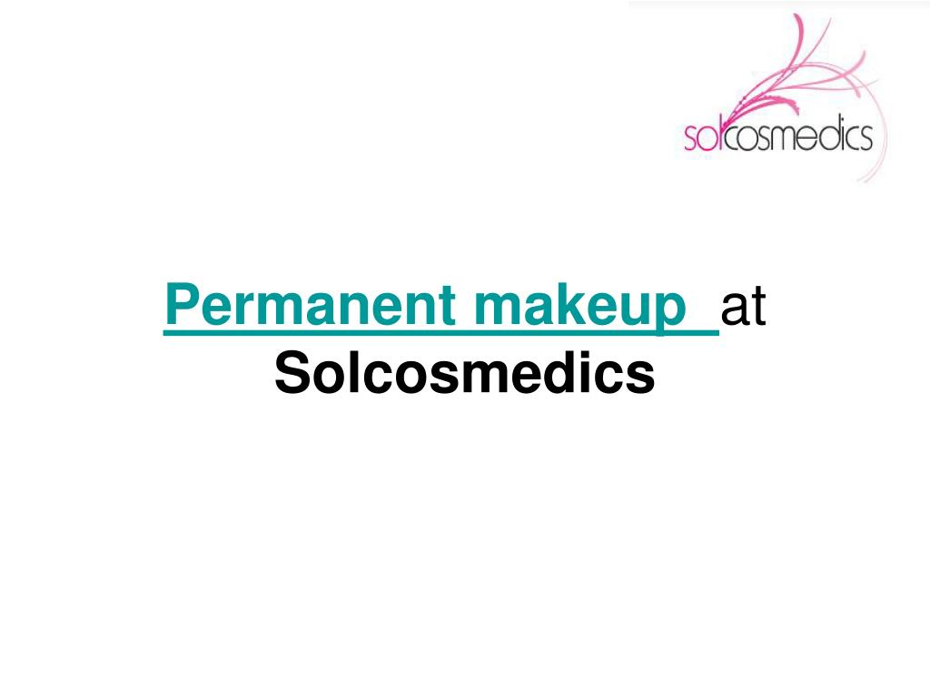 permanent makeup at solcosmedics l.