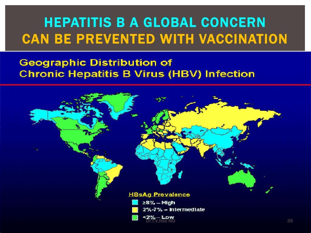 Hepatitis b a global concern