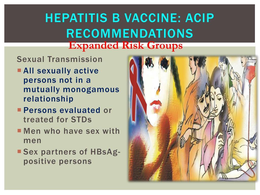 Hepatitis B Vaccine: ACIP Recommendations