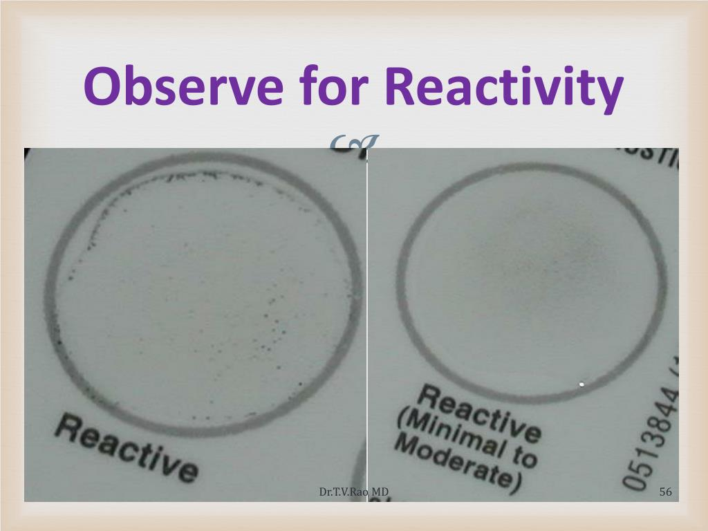 Observe for Reactivity