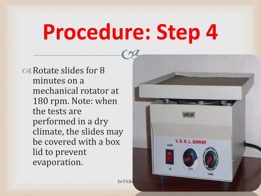 Procedure: Step 4