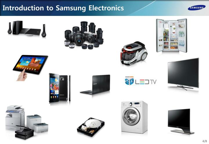 Introduction to Samsung Electronics