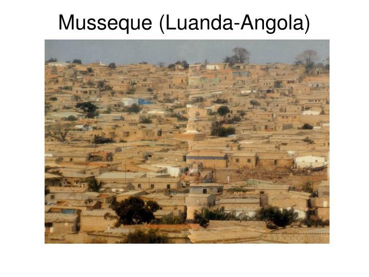 Musseque (Luanda-Angola)