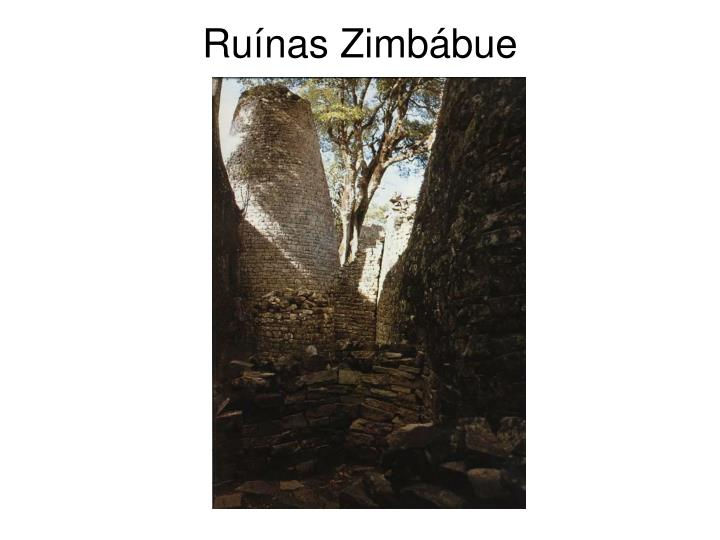 Ruínas Zimbábue