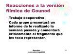 reacciones a la versi n f lmica de gounod