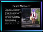 musical mapquest