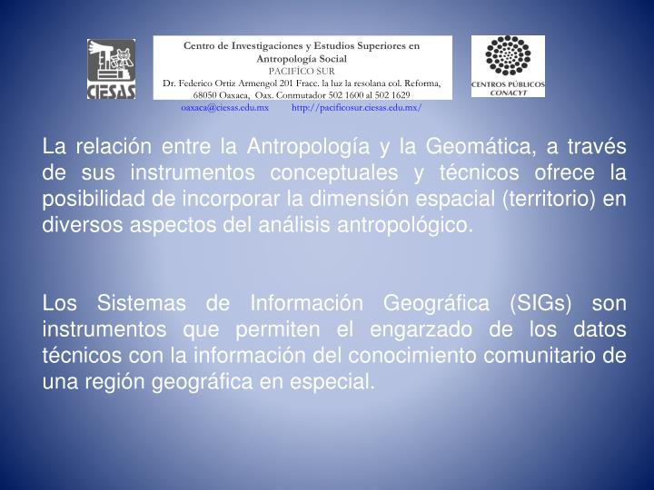 Centro de Investigaciones y Estudios Superiores en Antropología Social