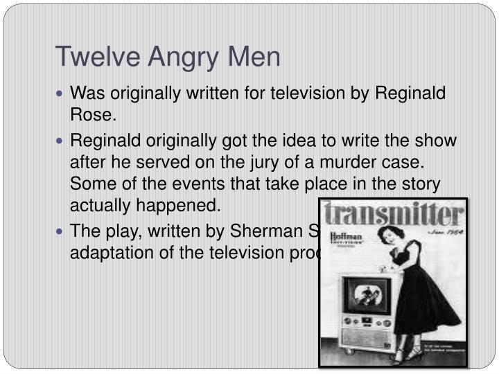 Twelve angry men1