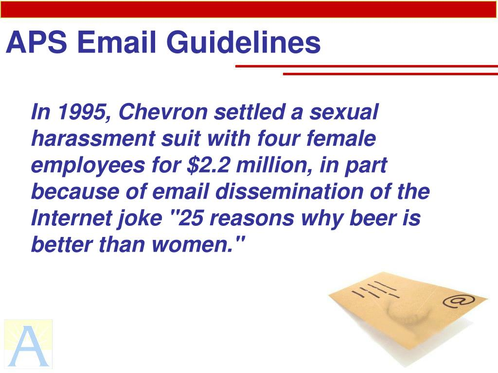 PPT - APS Email Guidelines PowerPoint Presentation - ID:1108248