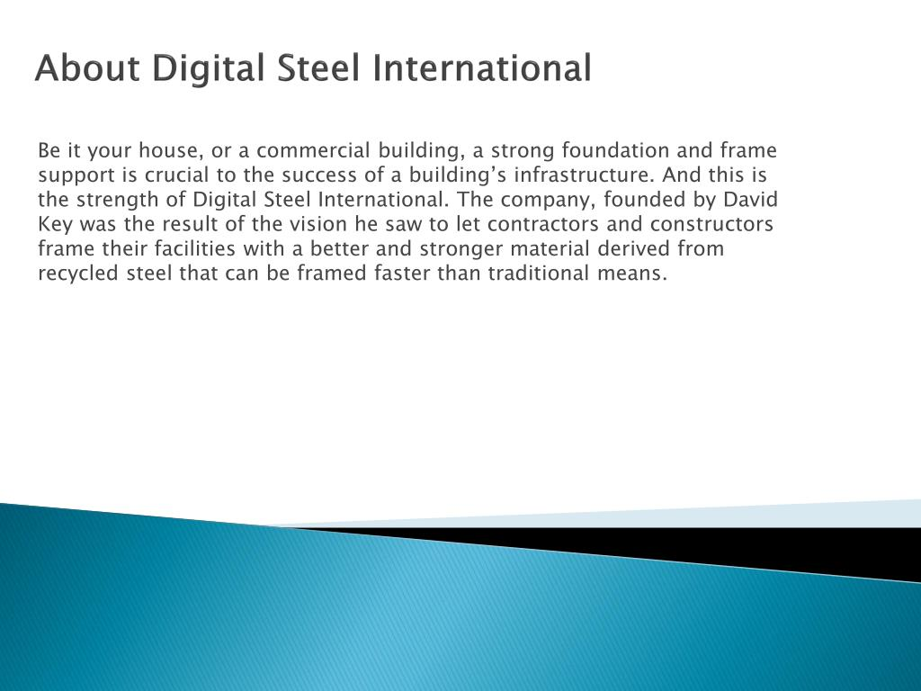 About Digital Stee