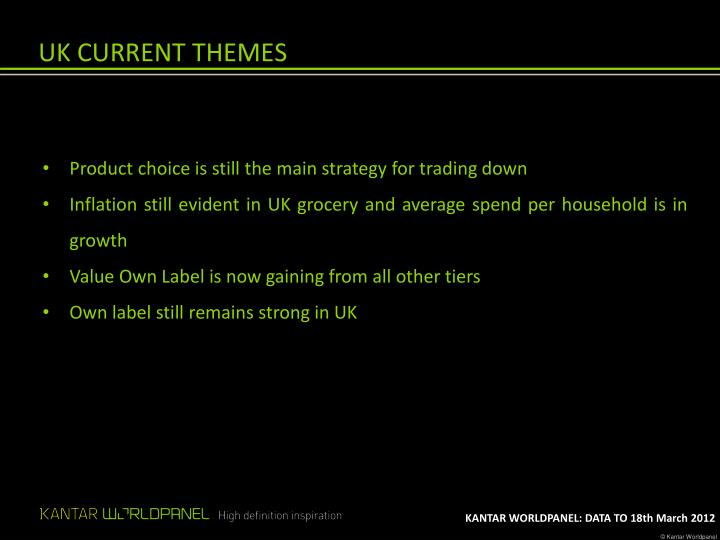 UK CURRENT THEMES