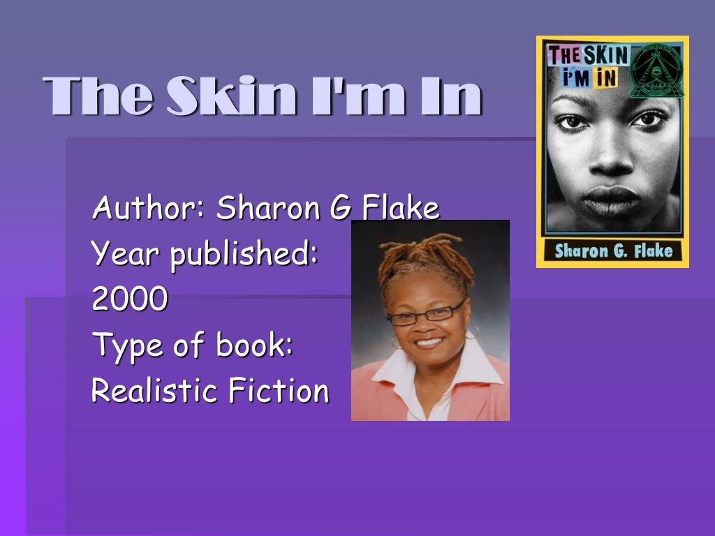 the skin i m in author
