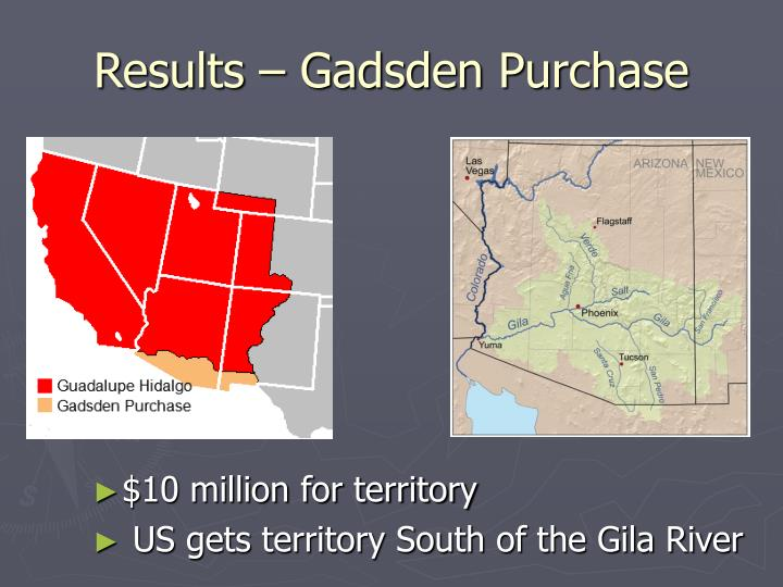 Results – Gadsden Purchase