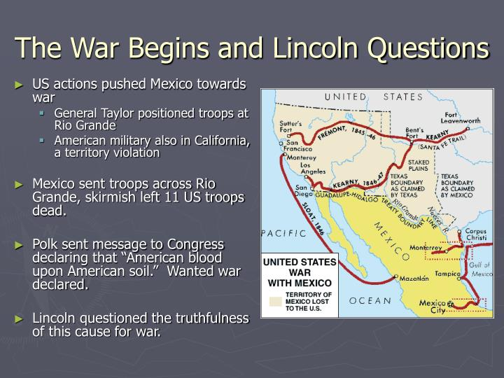 The War Begins and Lincoln Questions