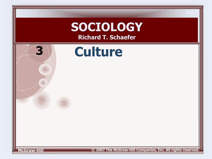 Sociologyrichard T Schaefer 3 Culture