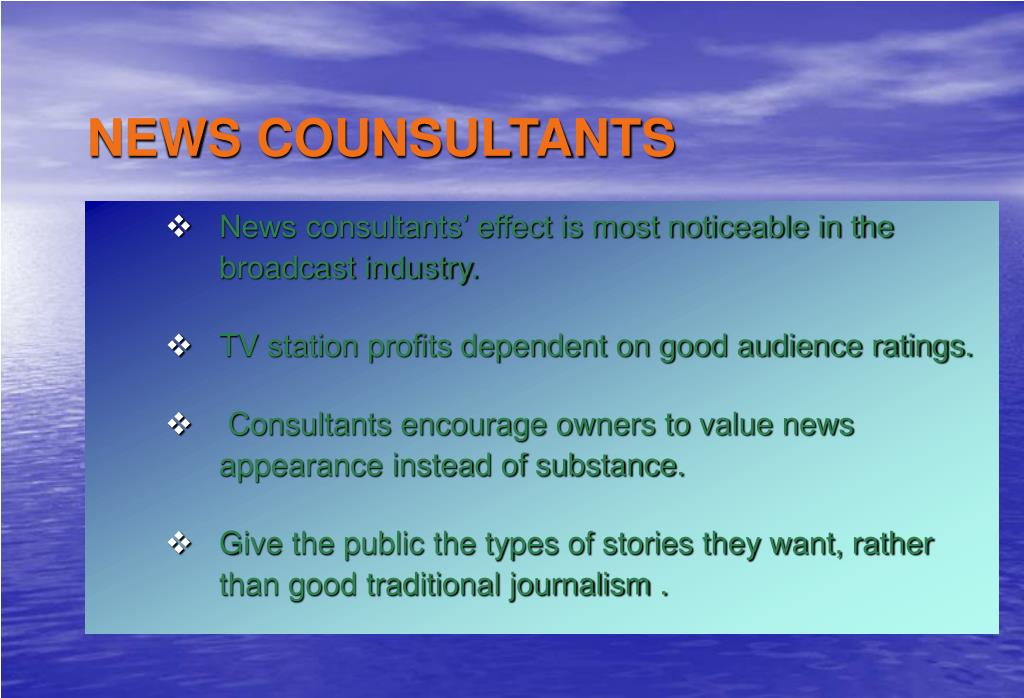 PPT - News Gathering and Reporting PowerPoint Presentation