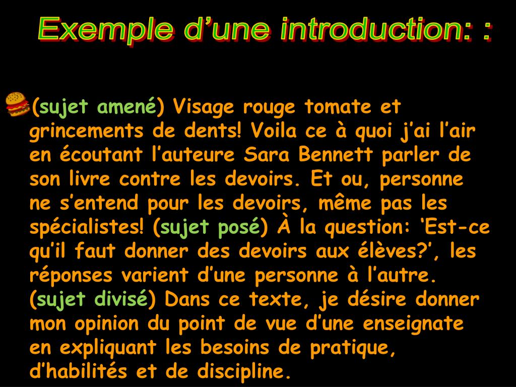 PPT - LE TEXTE D'OPINION PowerPoint Presentation, free ...