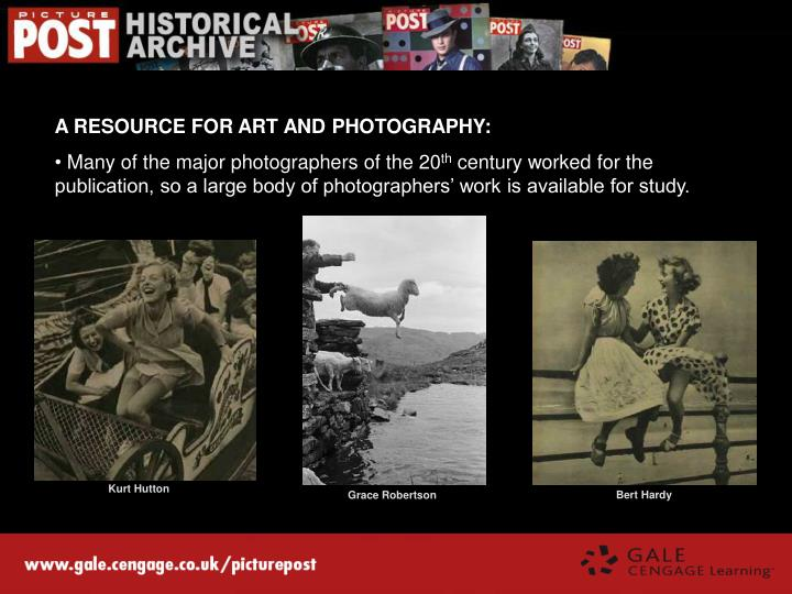 A RESOURCE FOR ART AND PHOTOGRAPHY: