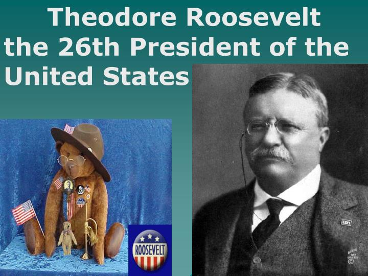 theodore roosevelts political career and his leadership of the united states Theodore roosevelt's early life and career theodore roosevelt's foreign policy like mckinley, roosevelt sought to bring the united states out of its theodore roosevelt, the 26th president of the united states, dies at sagamore hill, his estate overlooking new york's long island.