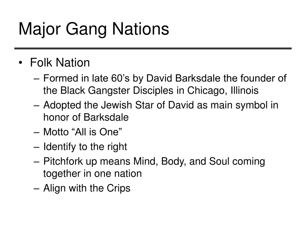PPT - What is a Gang? PowerPoint Presentation - ID:1109371