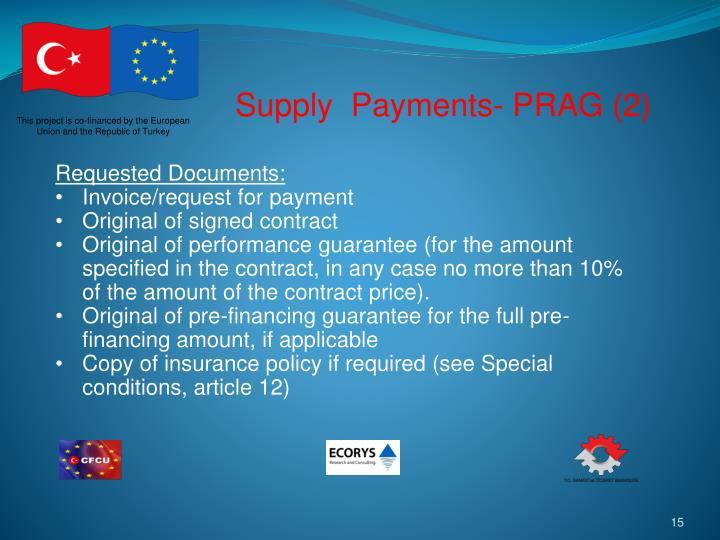 Supply  Payments- PRAG (2)